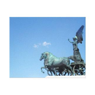 Estatua en Roma Lona Envuelta Para Galerías