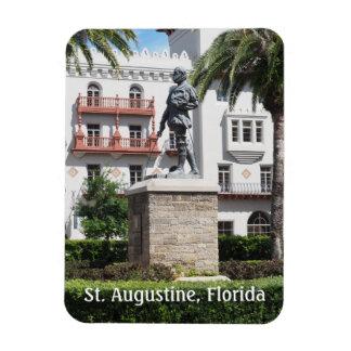 estatua en St Augustine la Florida Imán