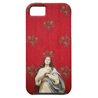 Estatua en una iglesia de Spaccanapoli, Nápoles de Funda Para iPhone SE/5/5s