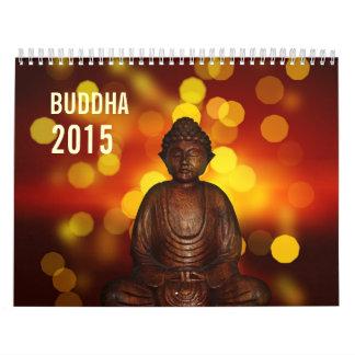 Estatua espiritual hermosa 2015 de Buda Calendarios