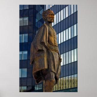 Estatua general Jesse L Reno Reno Nevada de la Impresiones