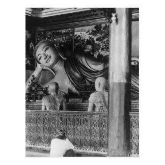 Estatua grande de Buda en Tailandia Postal