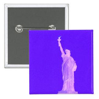 Estatua libertad América los E E U U del 4 de jul Pin