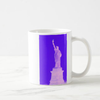 Estatua libertad América los E E U U del 4 de jul Taza