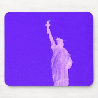Estatua libertad los E.E.U.U. América del 4 de jul Alfombrillas De Ratones