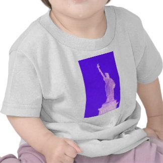 Estatua libertad los E E U U América del 4 de jul Camisetas