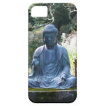 Estatua Meditating de Buda iPhone 5 Case-Mate Fundas