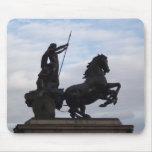 Estatua Mousepad de Boadicea Alfombrillas De Raton
