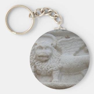 Estatua Napoli, Grecia de la marca del apóstol Llavero Redondo Tipo Pin