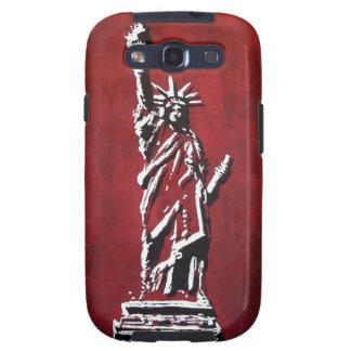 Estatua of Liberty - Libertas Galaxy SIII Cárcasas