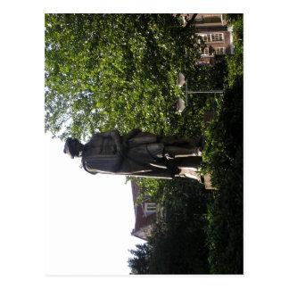 Estatua Rembrandt Amsterdam de la descripción, hec Tarjeta Postal
