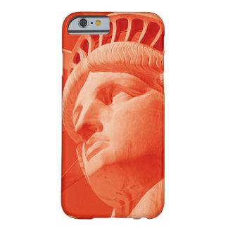 Estatua roja del caso del iPhone 6 de Barely There Funda Barely There iPhone 6