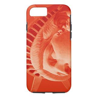 Estatua roja del caso duro del iPhone 7 de la Funda iPhone 7