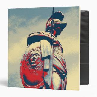 Estatua romana del gladiador del guerrero
