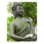Estatua serena hermosa de Buda Postal