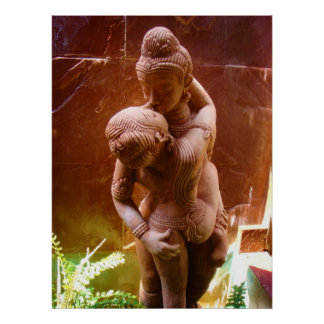 Estatua Tantric Póster