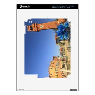 Estatua y campanario de cristal grandes, Italia iPad 3 Skins