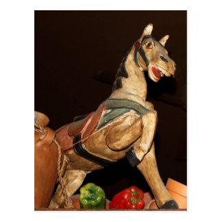 Estatua y decoración mexicanas del caballo postal