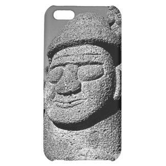 Estatuas de abuelo de piedra Harubang BW de Jeju