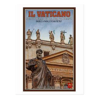 Estatuas de la Ciudad del Vaticano Tarjetas Postales