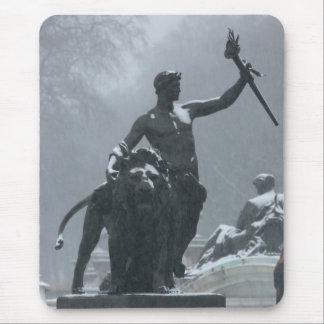 Estatuas de Londres Inglaterra Tapete De Ratones