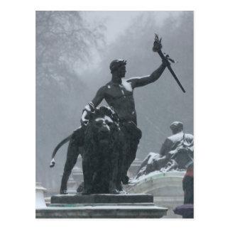 Estatuas de Londres Inglaterra Postal