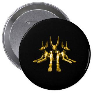 Estatuas de oro de Anubis Pin