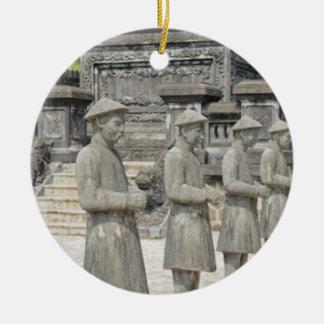 Estatuas de piedra de la tumba ornamentos de reyes