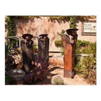 Estatuas del jardín tarjetas postales