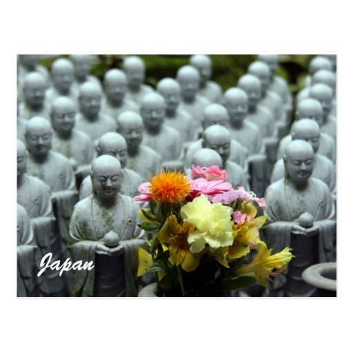 estatuas Japón de Buda Postal