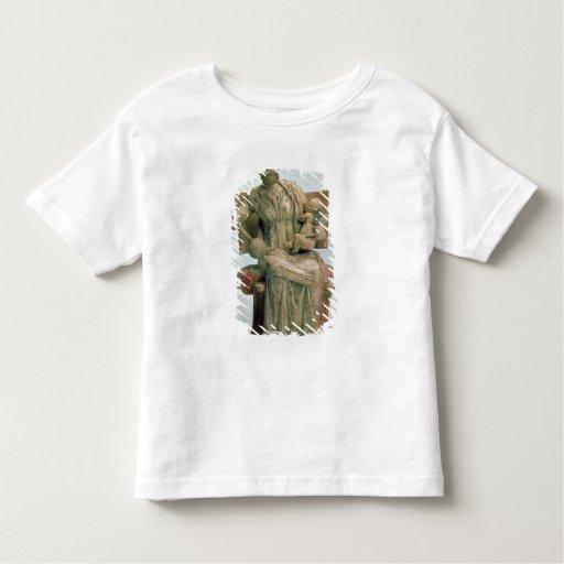 Estatuilla del Aphrodite que juega con eros Tshirts