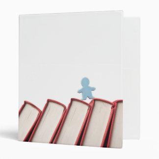 """Estatuilla en la espina dorsal de libros carpeta 1"""""""