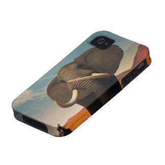 Estatura majestuosa Case-Mate iPhone 4 funda