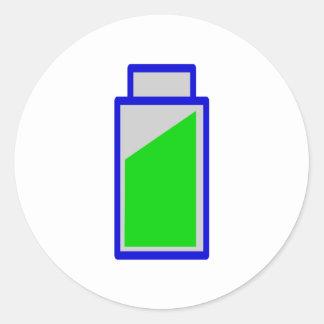 Estatus de batería battery accu status