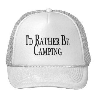 Esté acampando bastante gorro de camionero