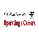 Esté actuando bastante una cámara tarjetas postales