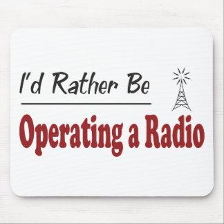 Esté actuando bastante una radio alfombrilla de ratón