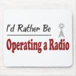 Esté actuando bastante una radio tapete de ratón