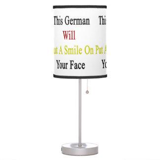 Este alemán pondrá una sonrisa en su cara