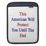 Este americano le protegerá hasta el extremo manga de iPad