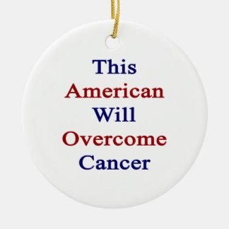 Este americano superará al cáncer ornatos