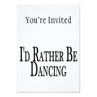 """Esté bailando bastante invitación 5"""" x 7"""""""