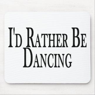 Esté bailando bastante alfombrillas de raton