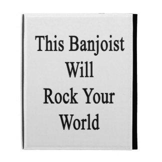 Este Banjoist oscilará su mundo