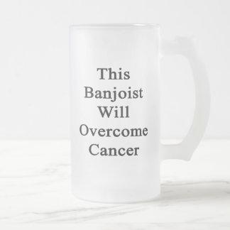 Este Banjoist superará al cáncer Taza De Café