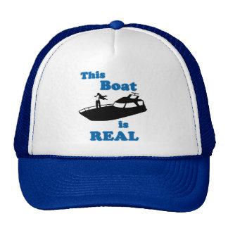 Este barco es real gorra