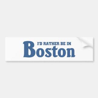 Esté bastante en Boston Pegatina Para Auto