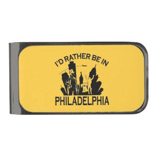 Esté bastante en clip del dinero de Philadelphia Clip Para Billetes Plomizo