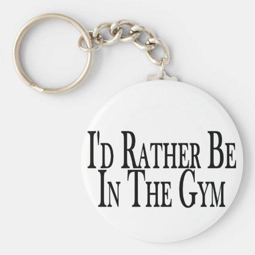 Esté bastante en el gimnasio llaveros personalizados