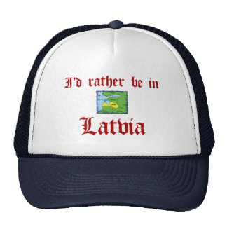Esté bastante en Letonia Gorra